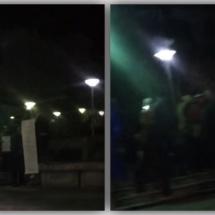 VIDEO: Protestele nu au încetat la RÂMNICU VÂLCEA