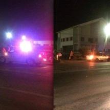 FOTO/VIDEO: ACCIDENT la STOLNICENI. Două persoane lovite pe trecerea de pietoni de la Fabrica de Conserve