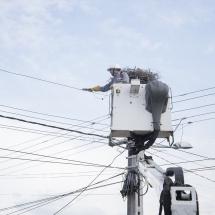 """HOŢII de ENERGIE ELECTRICĂ """"vizitaţi"""" de JANDARMII din VÂLCEA. 8 infracţiuni depistate"""