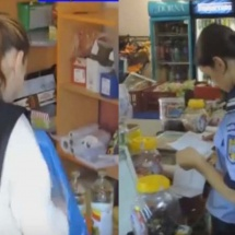 Magazin non-stop din zona Elegant, drastic amendat. 124 de produse alimentare expirate