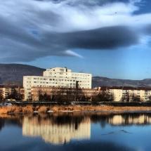 Primarul Gutău vrea ca municipalitatea să investească în curtea Maternităţii Râmnicu Vâlcea