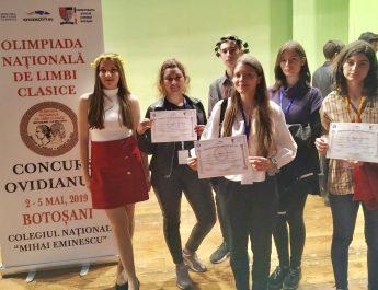Rezultate excelente obținute de elevii din Vâlcea la olimpiadele și concursurile naționale