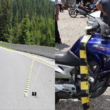FOTO. ACCIDENT pe TRANSALPINA. Un motociclist e în stare gravă!