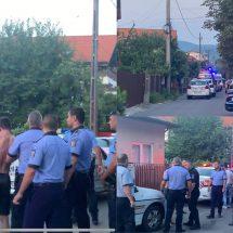 FOTO-VIDEO. Scandal în cartierul Nord din Râmnicu Vâlcea. Polițiștii și jandarmii au intervenit în forță