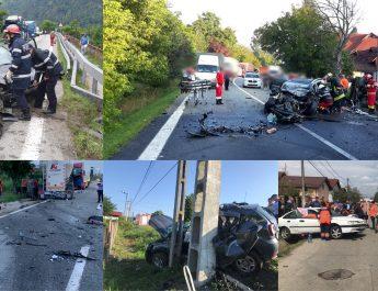 BILANȚ negru pe șoselele din VÂLCEA: 371 accidente, 28 morți și 113 răniți grav
