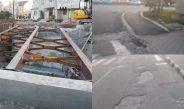 FOTO: Singurul proiect început de Sărdărescu la Horezu, încă în colaps