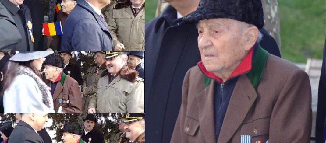 """VIDEO: Cine sunt """"politicienii"""" vâlceni care l-au sfidat pe veteranul de război de 1 decembrie."""