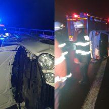 FOTO. ACCIDENT pe DN 7, în VÂLCEA. Doi cetățeni bulgari implicați…