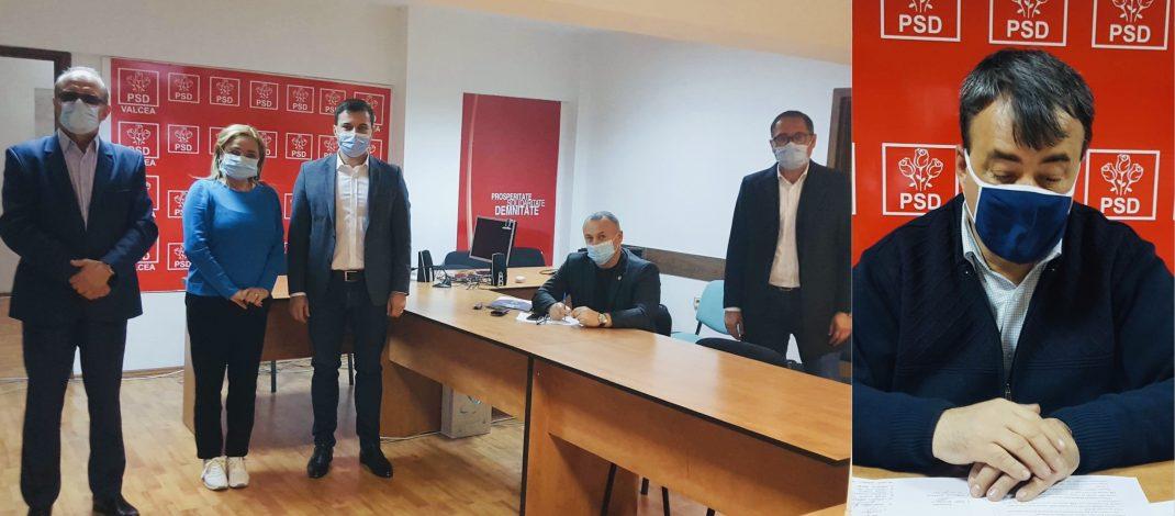 Listă făcută cu mâna președintelui Rădulescu. Candidații și locurile PSD Vâlcea la parlamentare