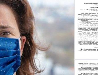 O avocată a dat în judecată Prefectura Vâlcea şi CSJU. Contestă obligativitatea purtării măştii de protecţie