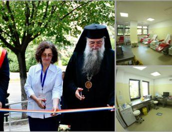 FOTO. Centrul de Transfuzii Sanguine Vâlcea s-a mutat în casă nouă