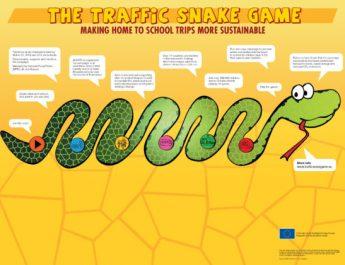 256 elevi din Râmnicu Vâlcea participă la o nouă ediție Traffic Snake Game